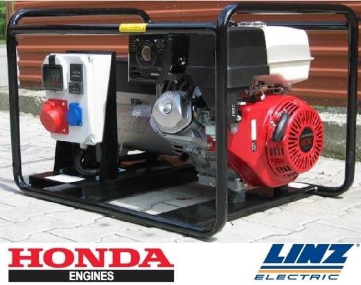 Promocja na generatory prądu z silnikiem HONDA GX390