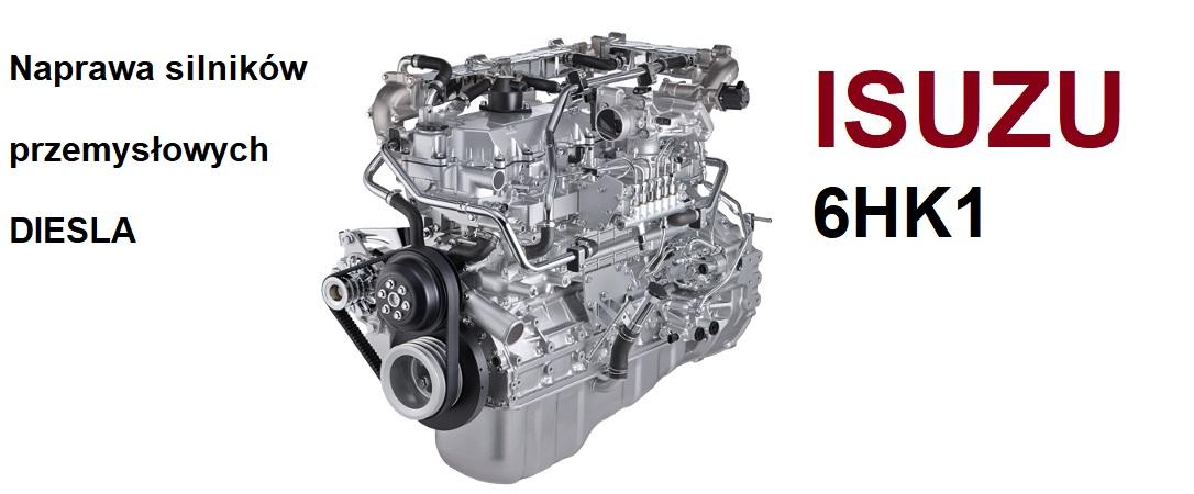 Naprawa silników przemysłowych ISUZU diesel